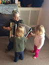 Grandma Kate brought in the accordion to