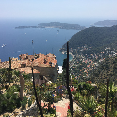 Postcards from Eze and Menton