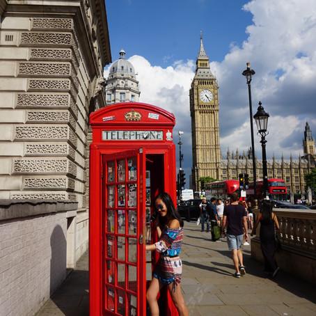 Three Weeks in London