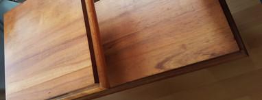 Koa end table