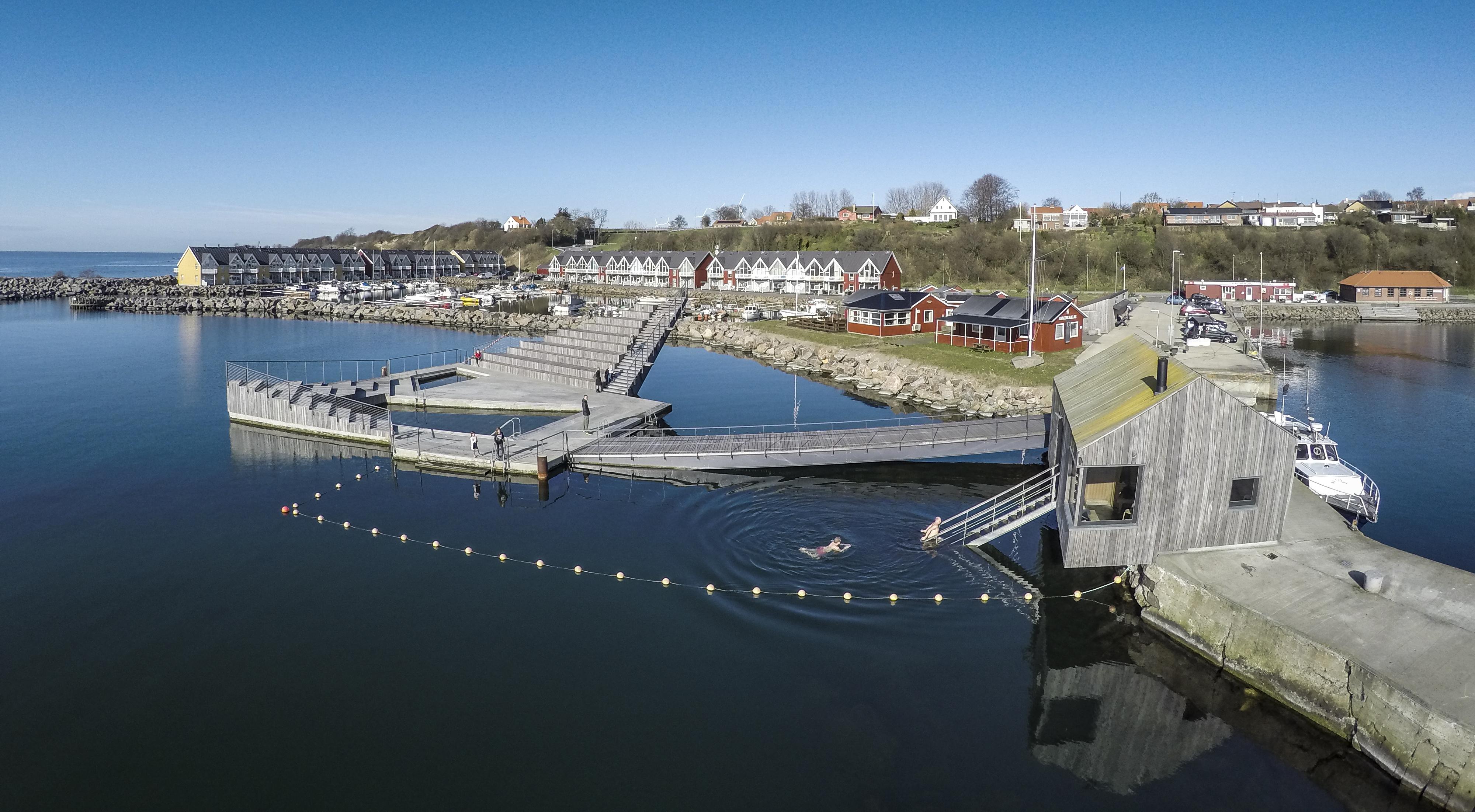 Hasle Havnebad på Bornholm