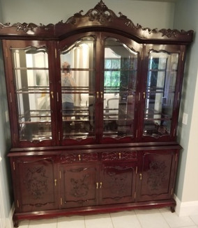 Gorgeous hutch we did