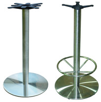 Just one of our available table bases (round bar height)