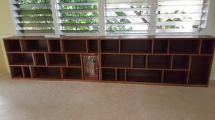 Custom built book cases