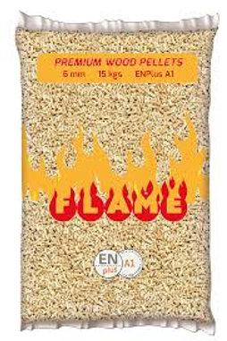 Pellet flame kg 150 (10 sacchi)