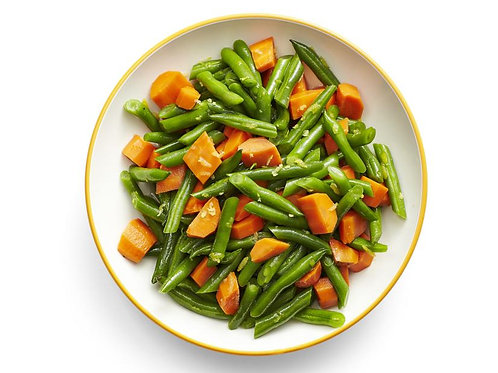 Sautee'd Green Beans + Carrot (Table Food)