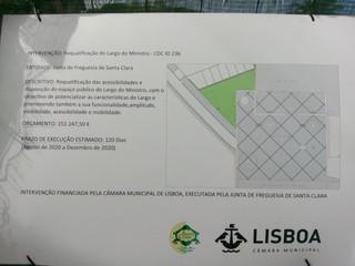 Requalificação do Largo do Ministro, Ameixoeira