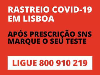 RASTREIO COVID-19 EM LISBOA