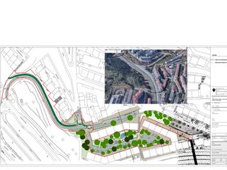 Construção de Ciclovia na Calçada de Carriche - EMEL