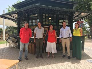 Visita do Sr. Presidente da Câmara Municipal de Lisboa, Dr. Fernando Medina, à Freguesia de Santa Cl
