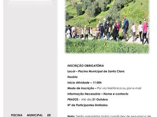 CAMINHADA DE OUTONO - 22 DE OUTUBRO DE 2020
