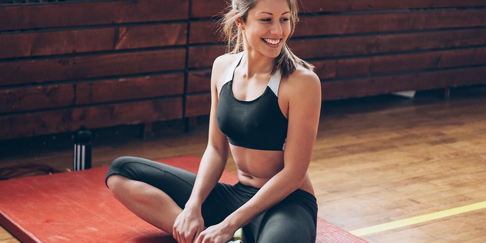 Exercices dos et bras avec Sophie