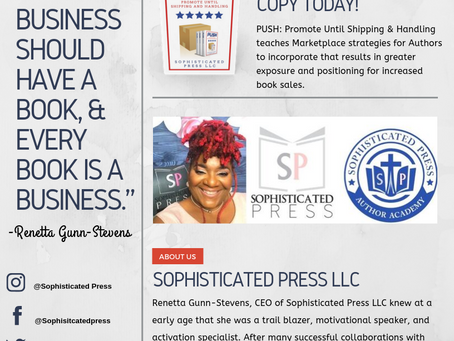 Turning Businesses Into Books Via Sophisticated Press