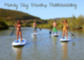 Standup Paddleboarding Algarve in Family