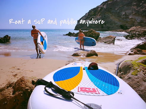 Rent a SUP Standup Paddle board hire in Sagres Algarve