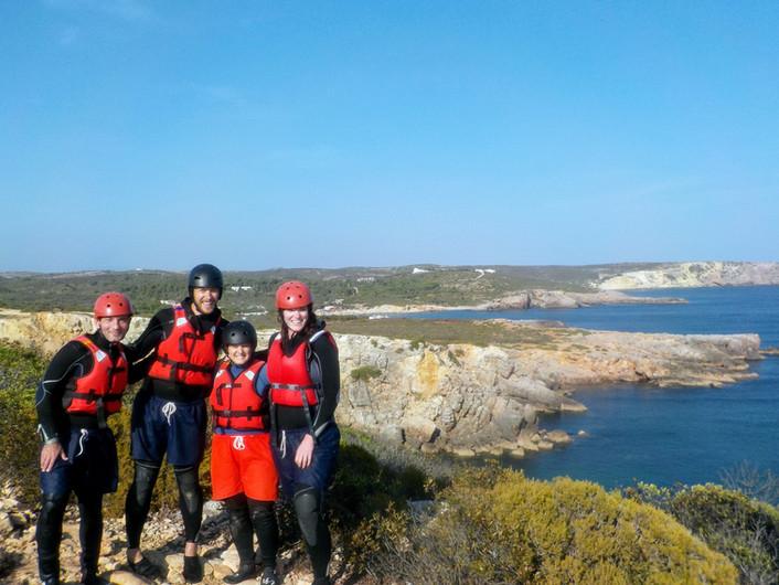 Passeio panorâmico ao longo da costa do Algarve