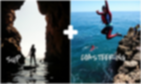 Multi Activities holiday in Algarve, Standup Paddle Boarding and Coasteering in 1 day