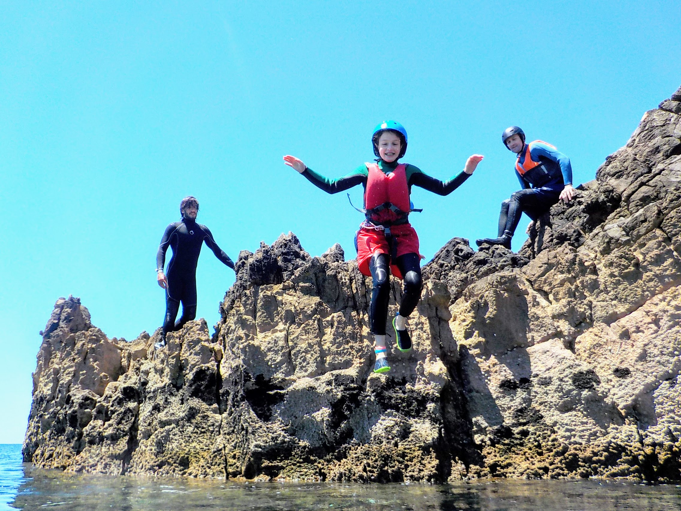 Coasteering for Kids in Algarve