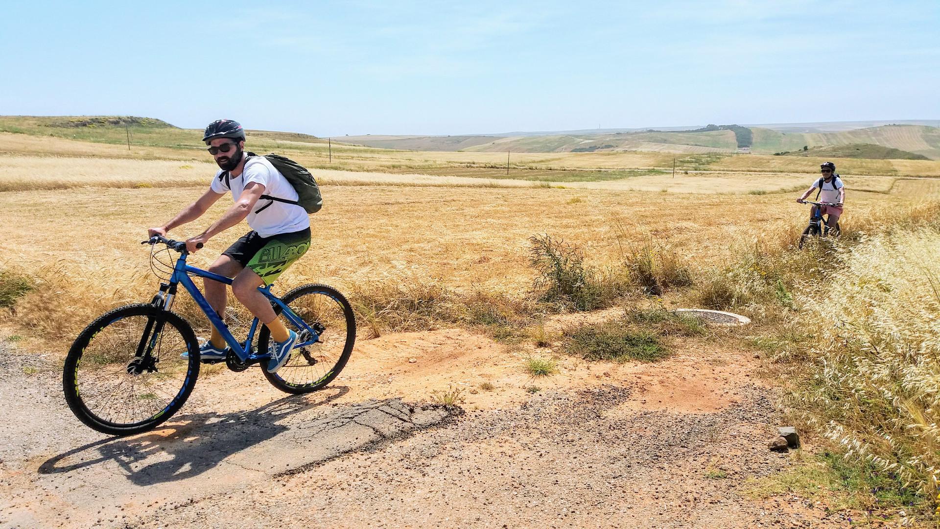 Ride through country lanes