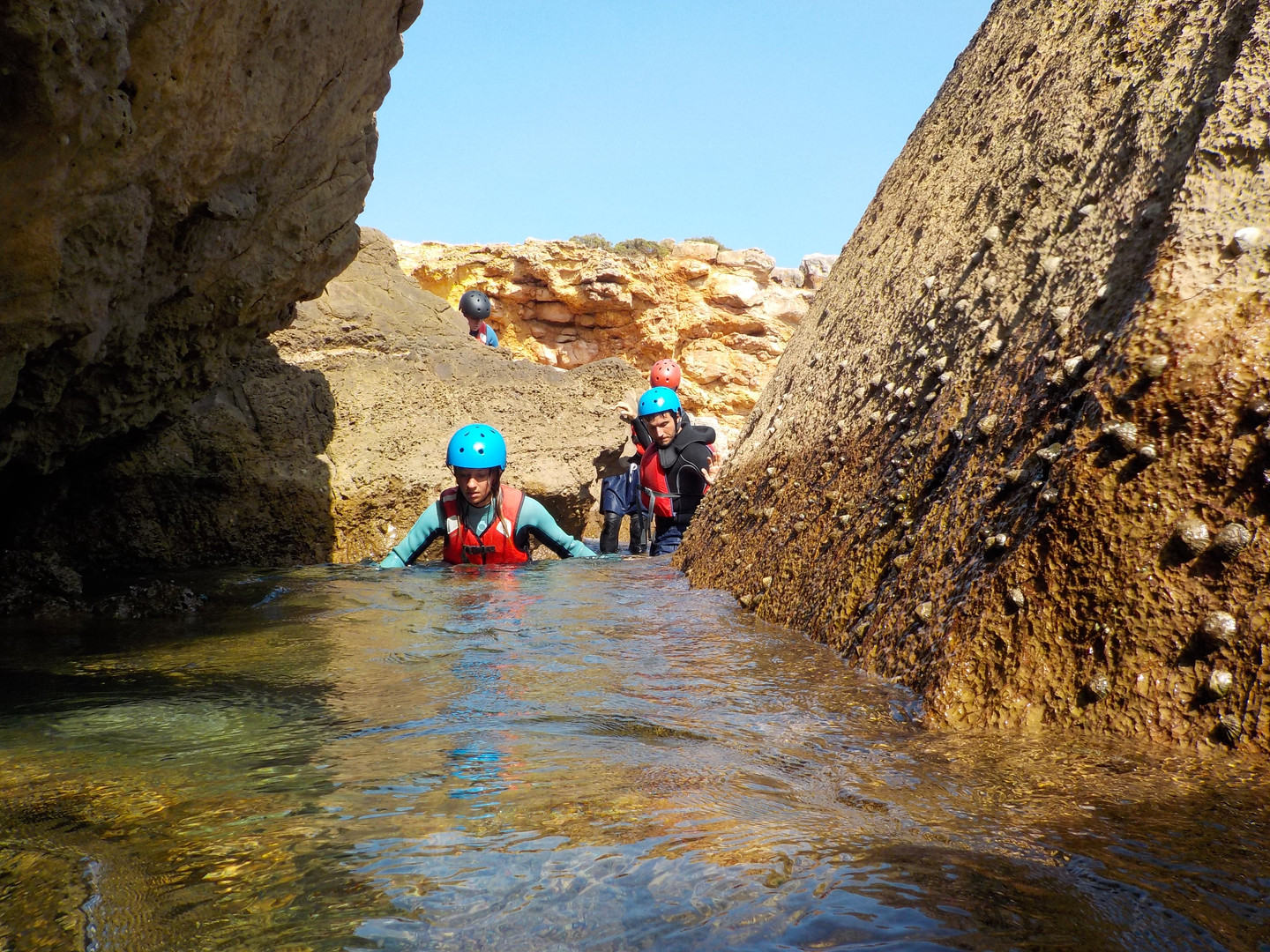 Exploring the nooks and crannies of coastline Algarve