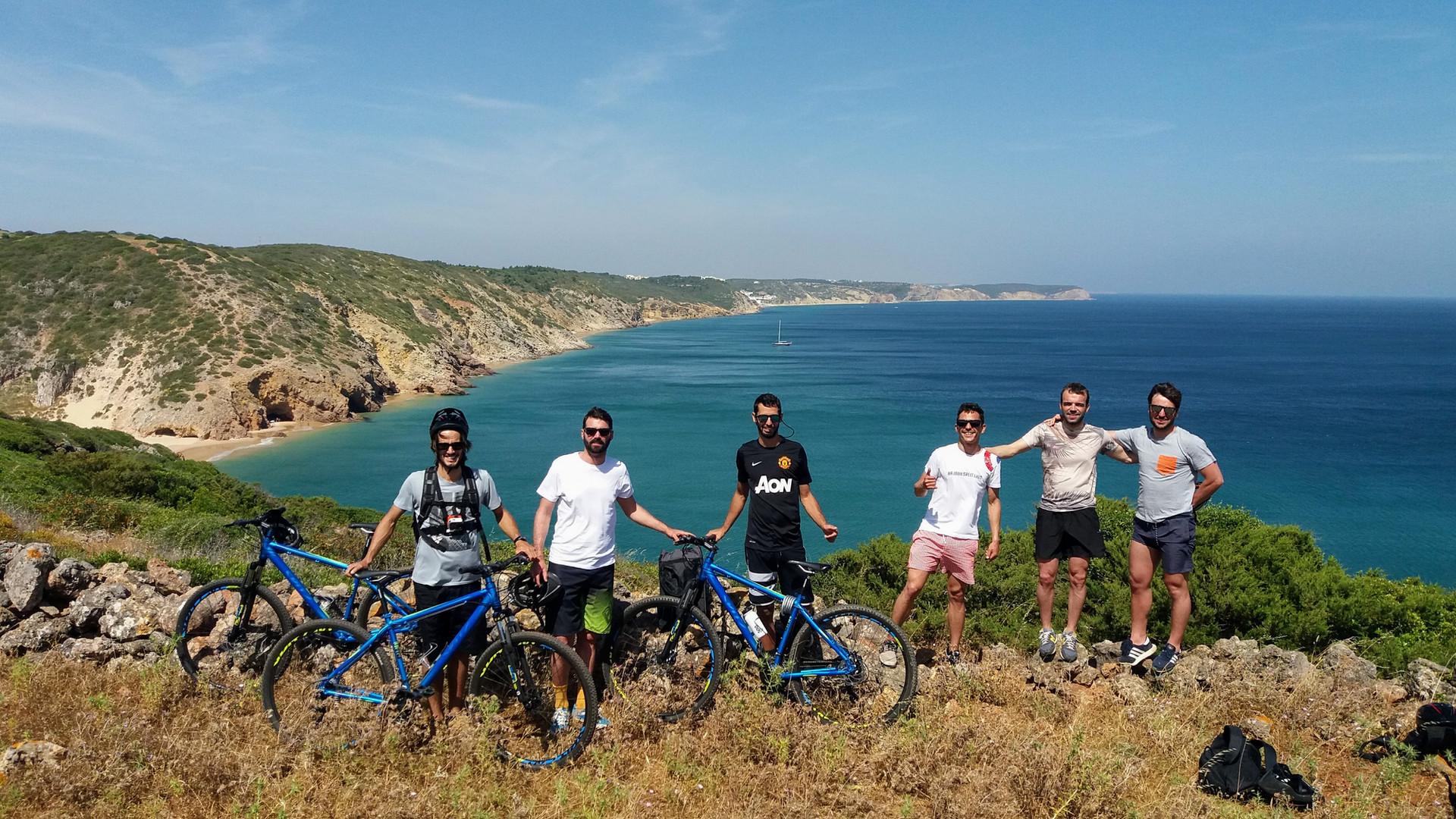 Western Algarve biking