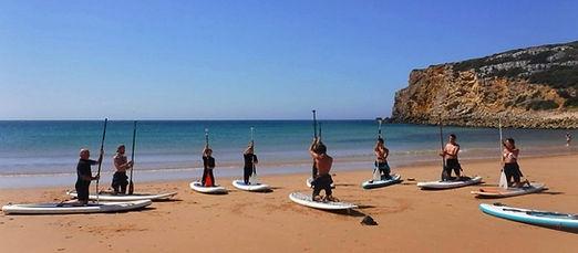 SUP instructor seasonal job offer in Sagres