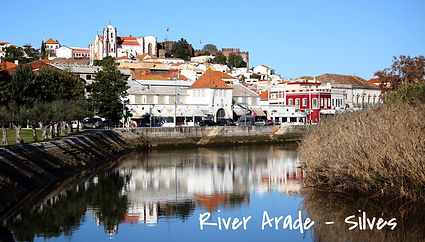 Amazing river SUP trip in Silves with charming views and Castle