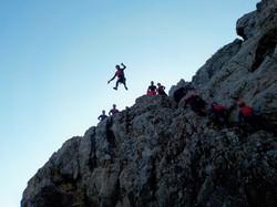 Saltos das falésias até 10 metros