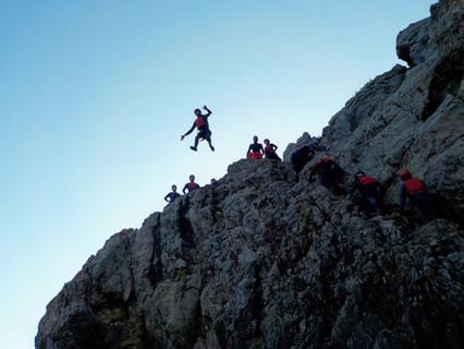 Big 10 meter Cliff Jump Algarve
