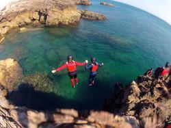 Coasteering no Algarve