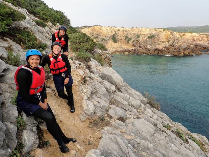 Coastline Algarve aventura de Coasteering