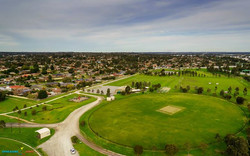 K.M. Reedy Reserve Oval Ground Aerial photo taken yesterday using Sony-Nex 6 with 16mm f2