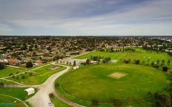 K.M. Reedy Reserve Oval Ground Aerial photo taken yesterday using Sony-Nex 6 with 16mm f2