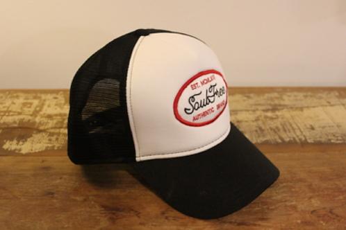 Trucker Cap - White/Black Soul Free Classic