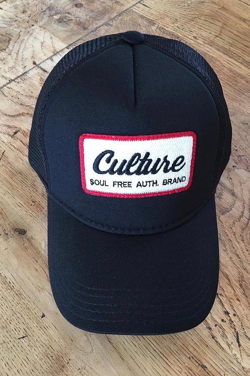 Trucker Cap - Culture Black