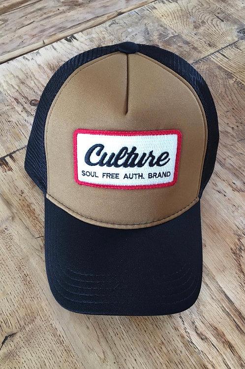 Trucker Cap - Culture Brown & Black