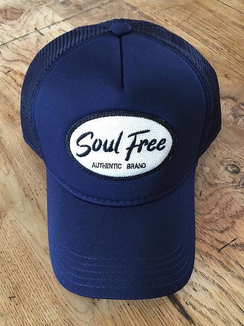 Trucker Cap - Soul Free Blue