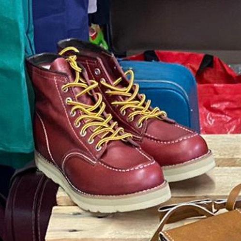 Boots Moctoe Burgandy