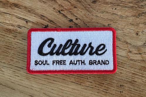 Patch Culture Brodé