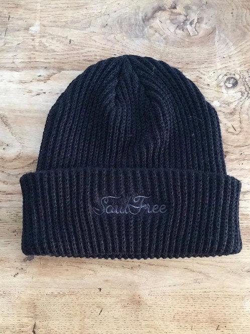 Winter Cap - Côtelé Black