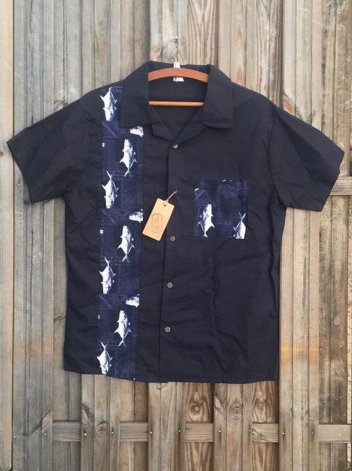 Chemise hawaïenne Shark