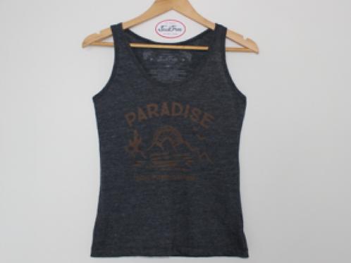 "T-Shirt Grey ""Regata""- Paradise"