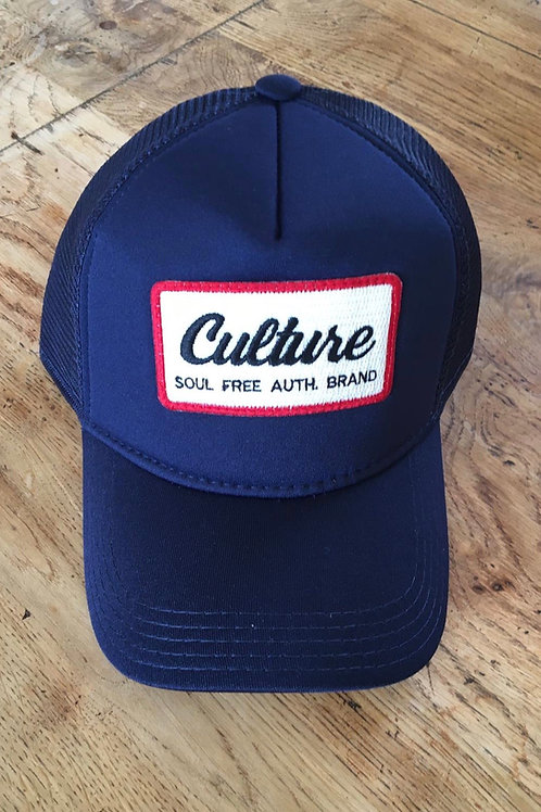 Trucker Cap - Culture Blue