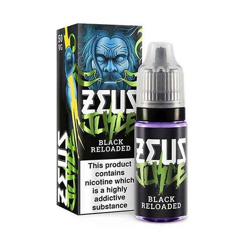 Black Reloaded 10ml - Zeus Juice 6/12mg