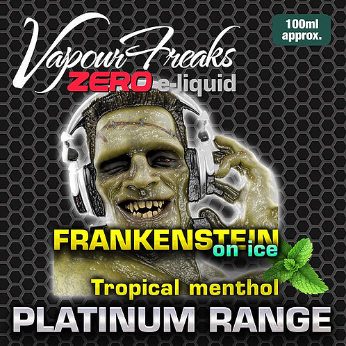 Frankenstein on Ice - 100ml Vapour Freaks