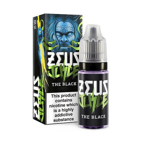 The Black 10ml - Zeus Juice 6/12mg