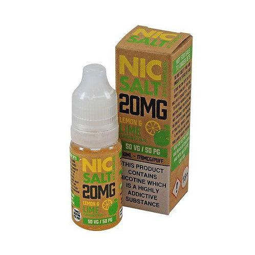 Lemon & Lime - 20mg 10ml Nic Salt