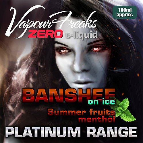 Banshee On Ice - 100ml Vapour Freaks