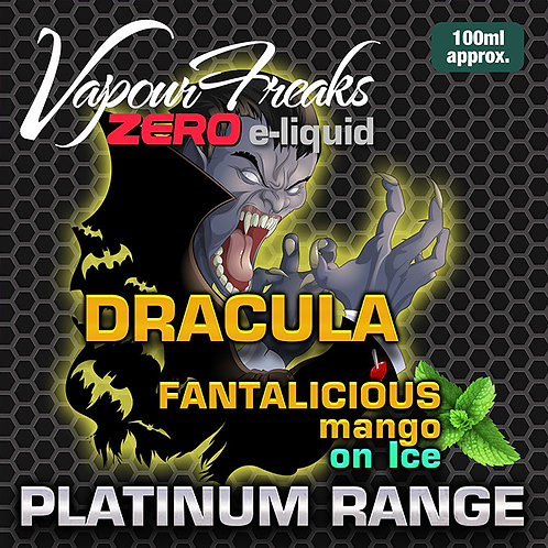 Dracula On Ice - 100ml Vapour Freaks
