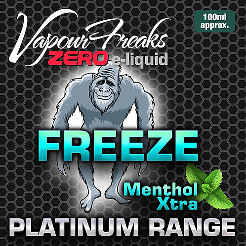 Freeze Menthol Extra - 100ml Vapour Freaks